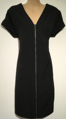 NEXT BLACK SMART ZIP FRONT POCKET DRESS SIZES 6-18